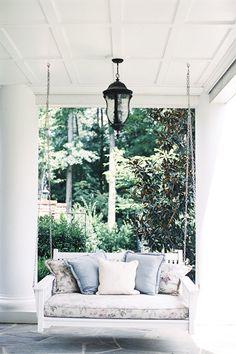 porch swing | Alicia Swedenborg #wedding