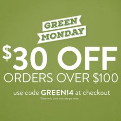 Green Monday on www.deergear.com!  #CelebrateTheHunt #ThisIsLegendary [12/8/14 only; not valid on previous orders]