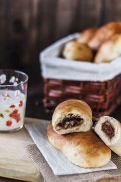 Nutella bread roll