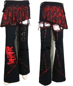 Visual kei styled pants <3