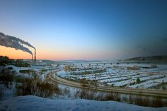 Murmansk - Murmansk isn't a city of everlasting cold, however it is close to be.