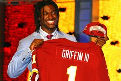 What the MCLXIX? RG3 first NFL player to wear Roman numerals
