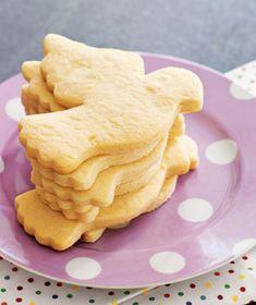 Recipe for basic sugar cookie dough.
