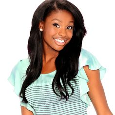 Coco Jones she just looks like she would be a sweet person:)