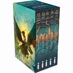 Box Livros Percy Jackson