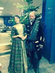 BTS Pics of the Cast on the set of Outlander | Outlander Online