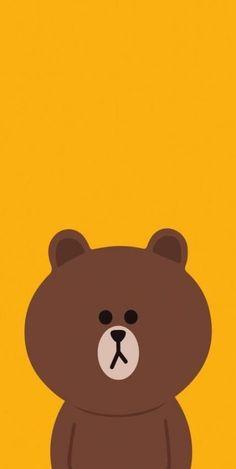 Lines Wallpaper, Brown Wallpaper, Bear Wallpaper, Kawaii Wallpaper, Iphone Wallpaper, Cute Tumblr Wallpaper, Cute Wallpaper Backgrounds, Tumblr Sketches, We Bare Bears Wallpapers