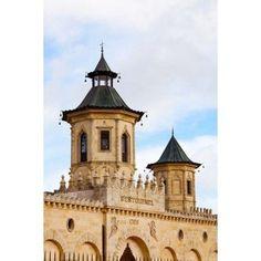 Chateau Cos dEstournel winery at St-Estephe Haut Medoc Gironde Aquitaine France Canvas Art - Panoramic Images (24 x 36) Aquitaine, Haut Medoc, Panoramic Images, France, Cos, Beautiful Places, Canvas Art, Building, Travel