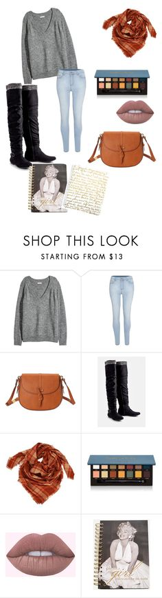 """""""Skool Girl #3"""" by nessayt ❤ liked on Polyvore featuring H&M, Foley + Corinna, JustFab, Anastasia Beverly Hills, Ashley Stewart and Lilly Pulitzer"""