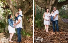 Greynolds park maternity - forest, trees theme photography