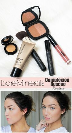 How to get sheer flawless coverage with @bareminerals NEW Complexion Rescue