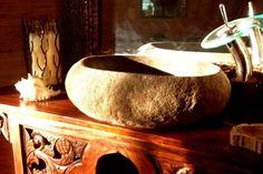 Lavello bagno in pietra naturale.  arredoscout - arredosocial: scambio idee per l'arredamento.