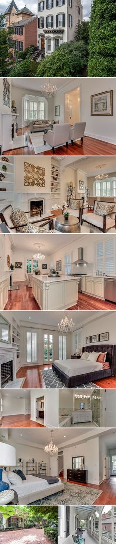 This Dumbarton Street home, just off Wisconsin Avenue in the heart of Georgetown, was originally built in 1875—and it still retains many of the era's most beautiful historic architectural flourishes, from the soaring ceilings and double doors to the...
