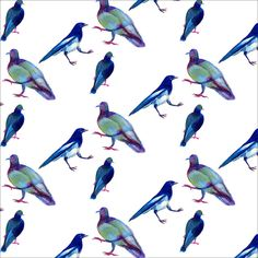 """Goofy Birds"" by Yinfan Huang. More inspiration on http://getinspiredmagazine.com/portfolios/yinfan-huang/"