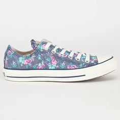 CONVERSE Chuck Taylor All Star Floral Womens Shoes on Wanelo