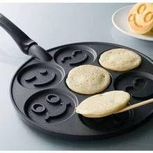 pancake smiley faces :)