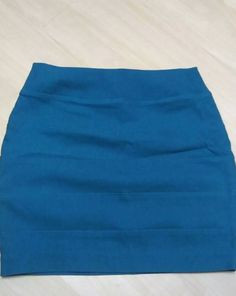 FAB #Fashion  bid just $2.99 Women's Juniors BCX Tiered Mini Skirt Stretch teal Size M Career/Party  @eBay