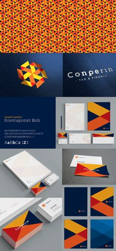 A nice design that makes use of contrasting colors in a tasteful way. There is also a presence of primary colors, which I find is very difficult to pull off in real life. #stationery