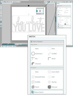 SKETCH WINDOW TUTORIAL | SILHOUETTE STUDIO DESIGNER EDITION