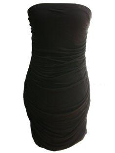 Yogacolors Strapless Little Black Dress for $55.00