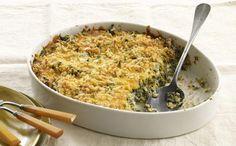 Crispy-Topped Creamy Spinach | KitchenDaily.com