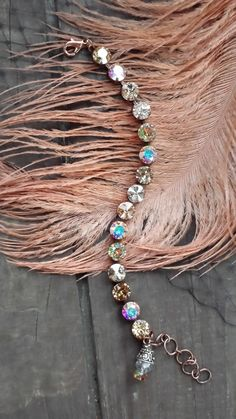Sabika inspired 8mm AB multi colored Antique by KissMySassJewelry, $35.00