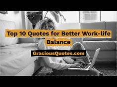 What is work-life Balance and why do we desperately seek to have it? Check out these thought-provoking quotes to learn more! Work Life Balance Quotes, Work Quotes, Success Quotes, Life Quotes, Funny Quotes, Good Time Management, What Is Work, Recovery Quotes, Education Humor
