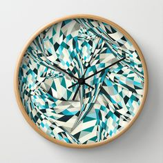 it's never over Wall Clock by Danny Ivan - $30.00