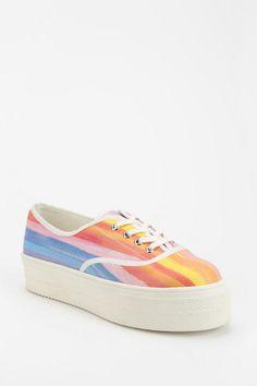 Wanted Rainbow Flatform-Sneaker