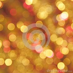 Christmas Gold Blur Background