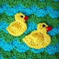 Free Duck Crochet Pattern