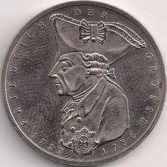 Motivseite: Münze-Europa-Mitteleuropa-Deutschland-Deutsche-Mark-5.00-1986-Friedrich der Große