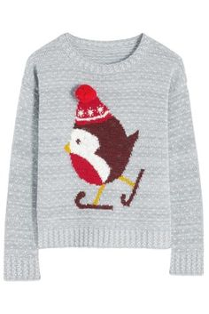 Buy Grey Robin Sweater from the Next UK online shop