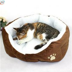 Cheap cat pet houses, Buy Quality nest house directly from China dog puppy house Suppliers: Umiwe Washable Soft Warm Paw Style Cat Dog Beds Nest Pad Mat Fleece Pets House Cat Puppy Dog Sofa Bed House With Cushion Mat Pet Dogs, Dog Cat, Cheap Dog Beds, Puppy Beds, Pet Puppy, Dog Sofa Bed, Cat Mat, Cat Sleeping, Large Animals