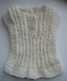 You will not believe how cute - and warm - this is on your baby. Yarn and pattern from Nostebarn