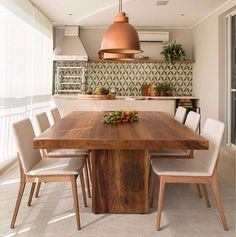 30 lovely dining room designs ideas in industrial style 5 Dining Room Design, Formal Dining Tables, Dining Room Bench Seating, Interior Design Kitchen, Dining Table Design Modern, Dining Table, Dining Room Decor, House Interior Decor, Dining Table Design