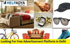 Searching forFree Classified Ad Posting Website in Indiathen you came at the right place. We at Help Adya provide both free and paid advertisement services. With the help of this classified site you can promote your new brand easily. Help Adya is an open marketplace where you can place your free ads including wide range of categories such as Real Estate, Car & bikes, Electronic Equipments, furniture, jobs and much more. To know more about free ad posting visitwww.helpadya.comor call at 8527 Post Free Ads, Free Classified Ads, Delhi India, Searching, The Help, Advertising, Real Estate, Platform, Range