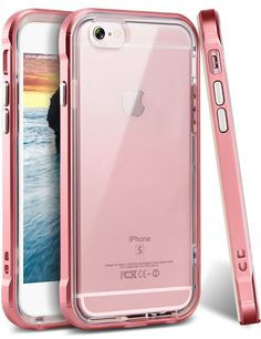 iPhone 6s Plus Case, Ansiwee Reinforced Frame Crystal Highly Durable Shock-Absor #Ansiwee