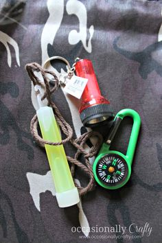 Occasionally Crafty: A Camping Birthday Party