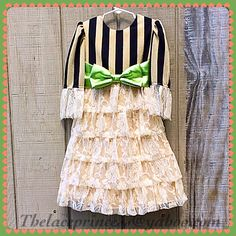 Custom length girls ruffle lace special occasion dresses skirts for fall autumn thelaceprincess@yahoo.com