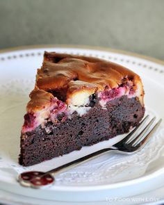 This recipe combines the best of both worlds - rich and moist chocolate cake, and sweet delicious cream cheese. It was one of the many ...
