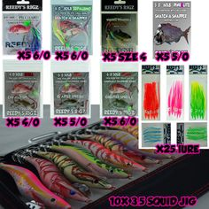 10 Snapper Rigs 6//0 Pink color Lure Slow Pitch Lumo Jig Live Bait Fishing Rig