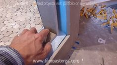How to install shower surround tile backer board & waterproofing membran...