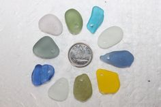 AWESOME BEACH GLASS Top drilled Pendent or by BEACHGLASSSWEPTASHOR, $12.99