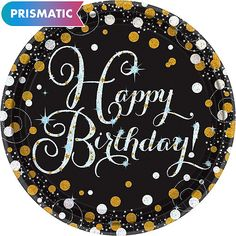 Prismatic Birthday Lunch Plates 8ct