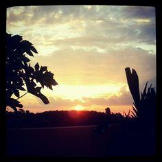 Por do sol em Barão Geraldo