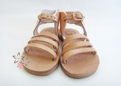 Hermes Kids / Baby Sandals / Genuine Greek High by Twininas