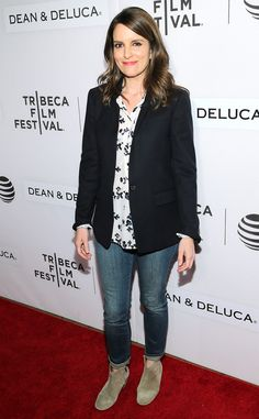 Tina Fey from The Big Picture: Today's Hot Pics  The funny lady and creator of Unbreakable Kimmy Schmidt makes a cameo at the 2016 Tribeca Film Festival in New York City.