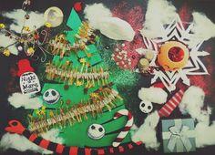 Theme: Nightmare before Christmas mood board (Sehyun Ahn)