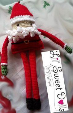 navidad christmas amigurumi crochet ganchillo doll najma01, NO pattern